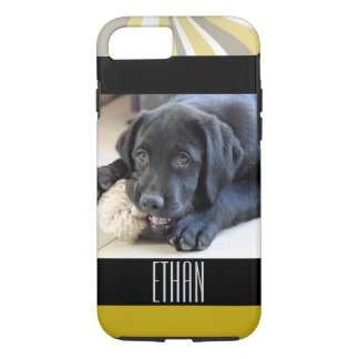 Lab Labrador Retriever Eyes Face Puppy Pet iPhone 8/7 Case