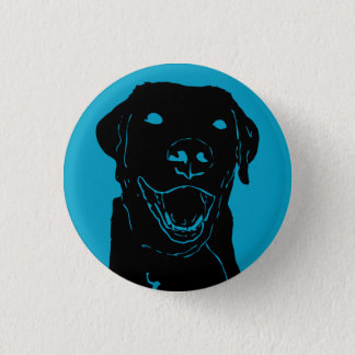 Lab Love 3 Cm Round Badge