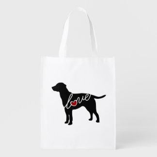 Lab Love Reusable Grocery Bag
