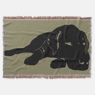 Lab Love Throw Blanket