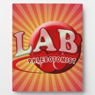 LAB PHLEBOTOMIST RBC LOGO DISPLAY PLAQUE