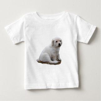 Lab Puppy Sitting Baby T-Shirt