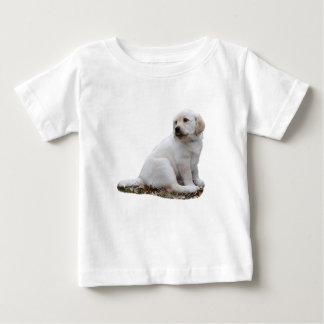 Lab Puppy With Head Turned Baby T-Shirt