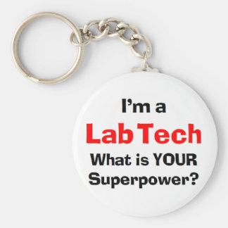 lab tech key ring