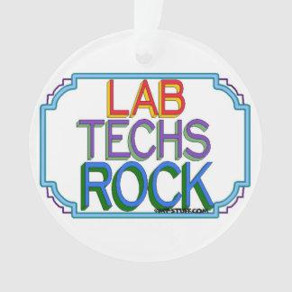 Lab Techs Rock Ornament