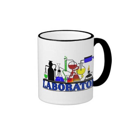 LAB WARE - LABORATORY GLASSWARE SETUP COFFEE MUGS
