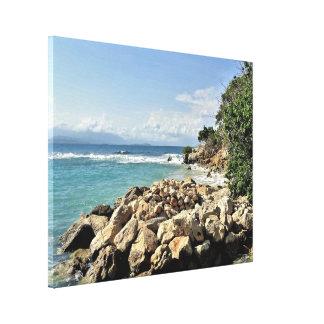 Labadie Seascape No. 2 Canvas Print