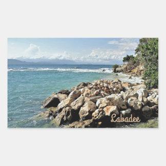 Labadie Seascape No. 2 Rectangular Sticker