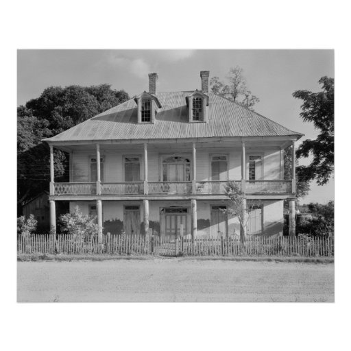 Labatut House Print