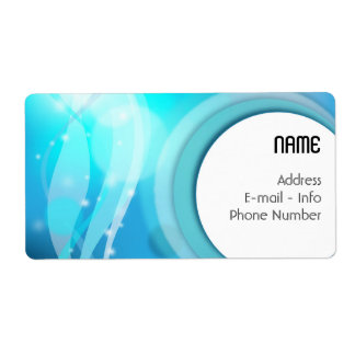 Label Abstract background Shipping Label