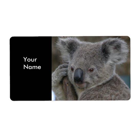 Label Address Stickers Koala Bears Shipping Label