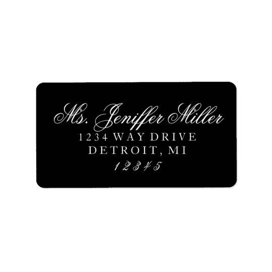 Label - Ms. future Mrs. Address Label