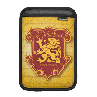 LaBella Bocce Mini iPad Material Cover iPad Mini Sleeves