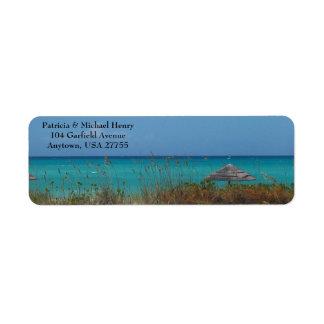 Labels on Emerald Bay Bahamas