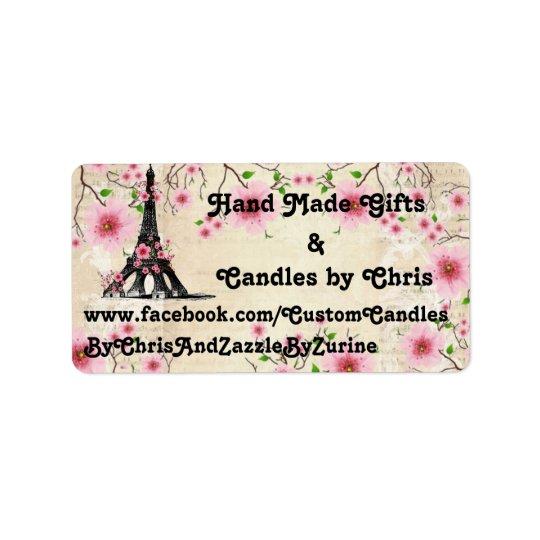 Labels, Paris Collection Label