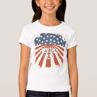 Labor Day American Flag T Shirt