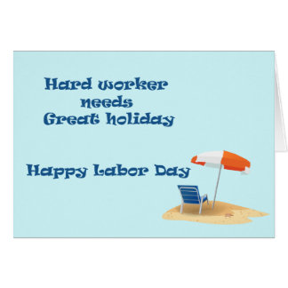 Labor day Card 2