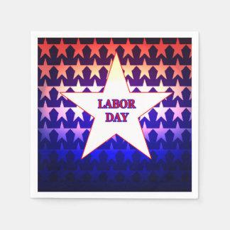 Labor Day Disposable Serviette