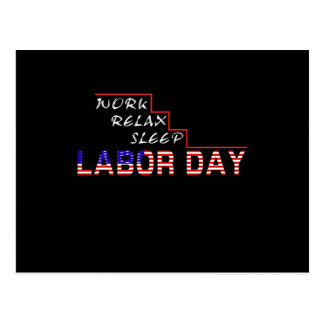 Labor Day Postcard