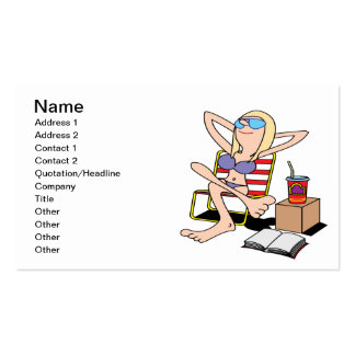 Labor Day Relaxation Pack Of Standard Business Cards