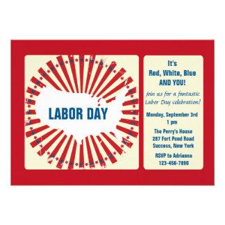 Labor Day USA Invitation