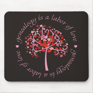 Labor of Love Tree Mouse Pads