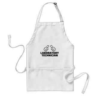 Laboratory technician standard apron
