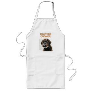 Labradoodle ART 'make dog cookies' Apron