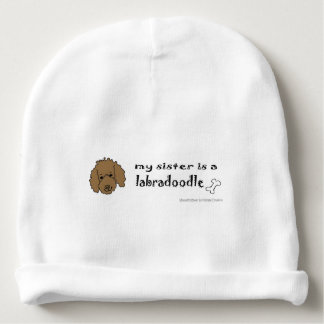 labradoodle baby beanie