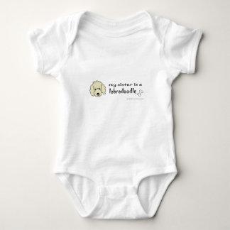 labradoodle baby bodysuit