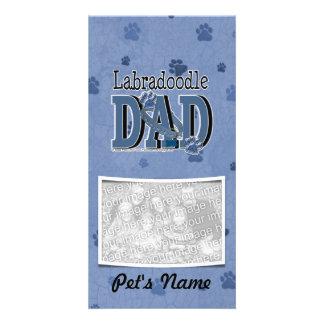 LabraDoodle DAD Photo Card Template
