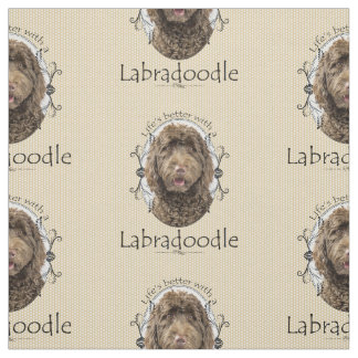 Labradoodle Fabric