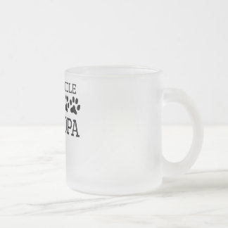 Labradoodle Grandpa Frosted Glass Coffee Mug
