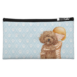 Labradoodle Love Cosmetic bag