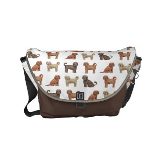 Labradoodle Love Large Messenger Bag