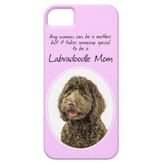Labradoodle Mom Smart Phone Case iPhone 5 Cover