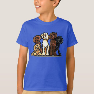 Labradoodle Rainbow T-Shirt