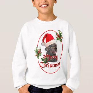labradoodle Santa Claus Sweatshirt