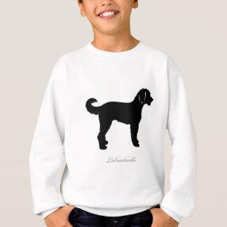 Labradoodle silhouette sweatshirt