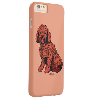 Labradoodle Warm Peach iPhone 6/6s Plus Case
