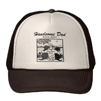 Labrador and Rotti and Dad Cap