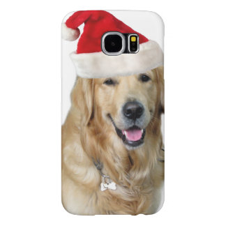 Labrador christmas-santa claus dog-santa dog-pet samsung galaxy s6 cases