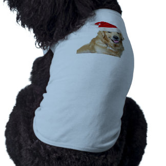 Labrador christmas-santa claus dog-santa dog-pet shirt