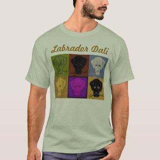 Labrador Dali 6 panel logo light T-Shirt