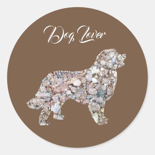 Labrador Dog Art  Sticker