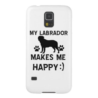Labrador dog designs galaxy s5 case