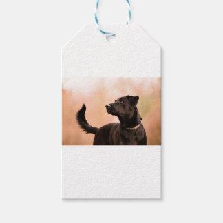 labrador gift tags