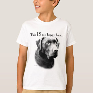 Labrador Happy Face T-Shirt