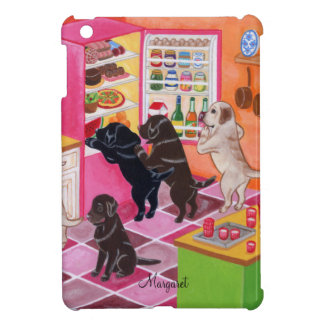 Labrador Kitchen Party Painting iPad Mini Cover