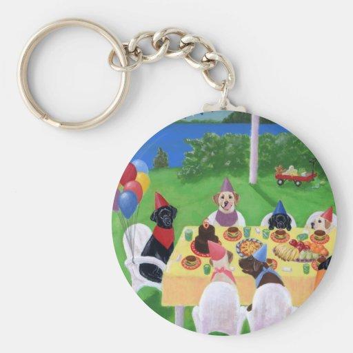 Labrador Party Key Chains